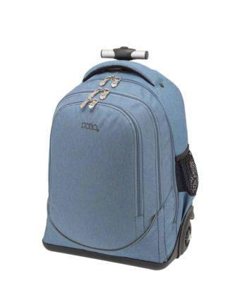 Τσάντα Τρόλεϊ POLO Uplow Γαλάζιο 9-01-253-32