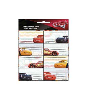 Σχολικές Ετικέτες GIM Cars 772-16646