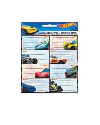 Σχολικές Ετικέτες GIM Hot Wheels 779-80546
