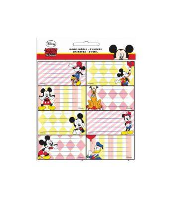 Σχολικές Ετικέτες GIM Mickey 773-00046