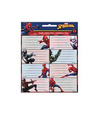 Σχολικές Ετικέτες GIM Spiderman 777-51546