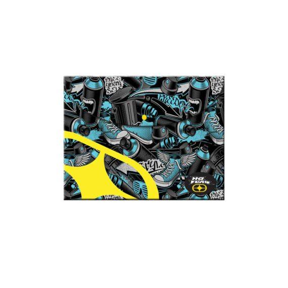 Φάκελος με Κουμπί Α4 NO FEAR 347-66580