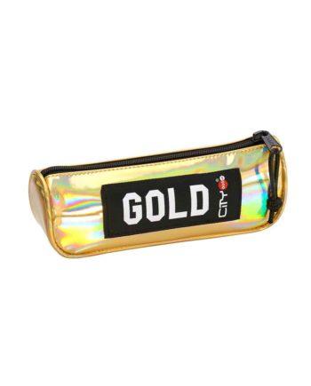 Κασετίνα CITY Eclair Trendy 22399 Χρυσό