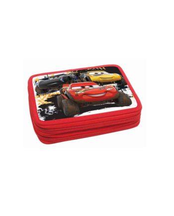 Κασετίνα Διπλή GIM Cars 341-44100