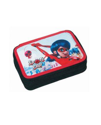 Κασετίνα Διπλή GIM Ladybug Super Heroes 346-03100