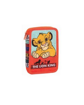 Κασετίνα Διπλή GIM Lion King 331-60100