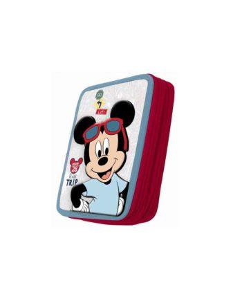 Κασετίνα Διπλή GIM Mickey Roadtrip 340-80100