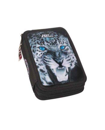 Κασετίνα Διπλή NO FEAR Leopard 347-57100