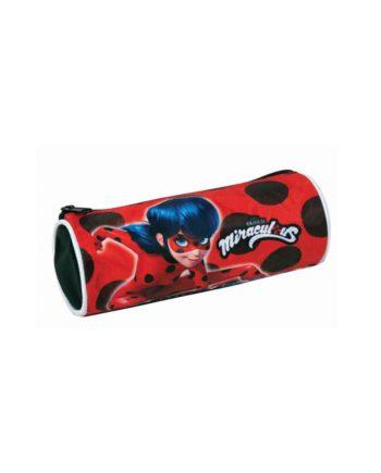 Κασετίνα Βαρελάκι GIM Ladybug Super Heroes 346-03140
