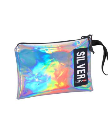 Νεσεσέρ CITY Safe Pocket Trendy 22215 Ασημί