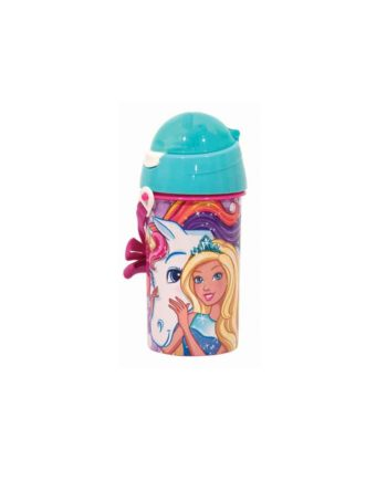 Παγούρι GIM Barbie Unicorn 500ml 571-15209
