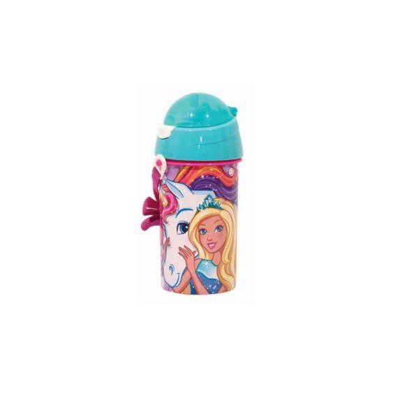 Παγούρι GIM Barbie Unicorn 500ml 571-15209