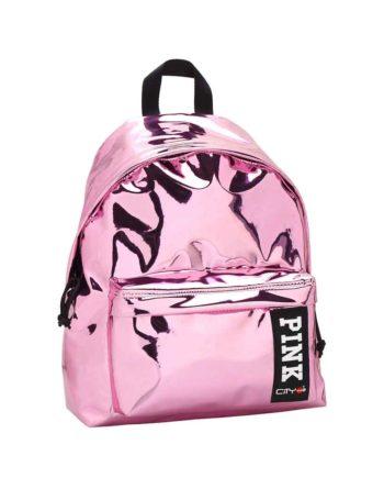 Σακίδιο Πλάτης CITY The Drop Trendy 22117 Ροζ