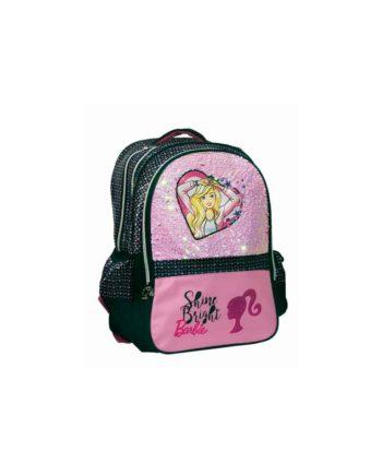 Τσάντα Δημοτικού GIM Barbie Sparkle 349-64031
