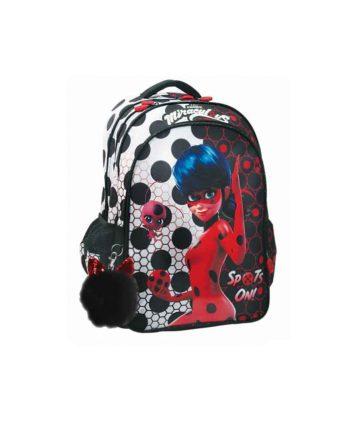Tσάντα Δημοτικού GIM Ladybug Dots 346-02031