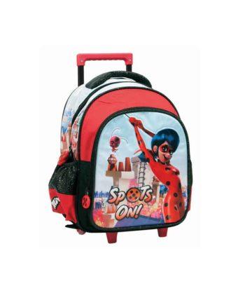 Τσάντα Τρόλεϊ Νηπιαγωγείου GIM Ladybug Super Heroes 346-03072
