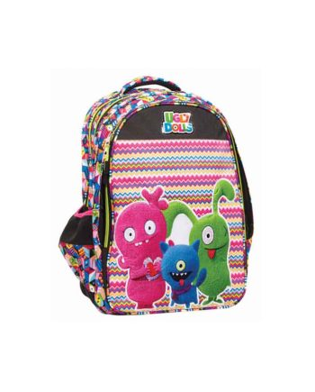 Tσάντα Δημοτικού GIM Ugly Dolls 334-72031