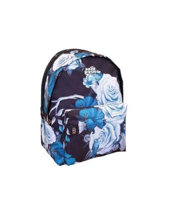 Τσάντα Πλάτης NO FEAR Blue Flowers 347-56034