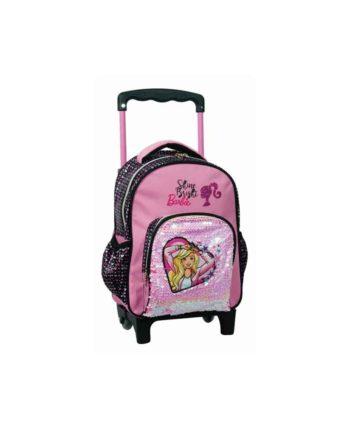 Τσάντα Τρόλεϊ Νηπιαγωγείου GIM Barbie Sparkle 349-64072