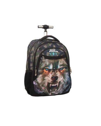 Τσάντα Τρόλεϊ NO FEAR Army Wolf 347-51074