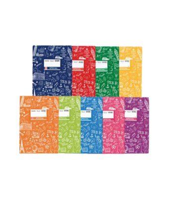 Τετράδιο Εξηγήσεων Doodles TYPOTRUST Special 50φ. - Διάφορα Χρώματα