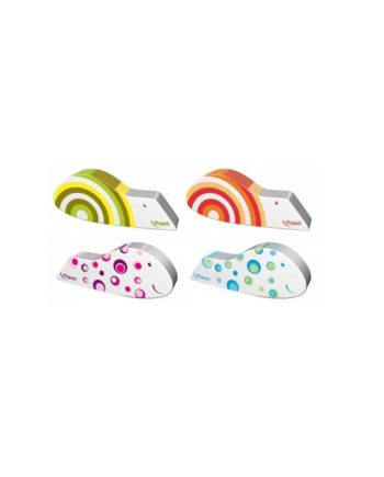 Γόμα MAPED Ergo Fun Fancy 119711 - Διάφορα Χρώματα