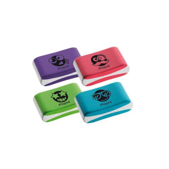 Γόμα MAPED Essentials Soft Χρωματιστή Με Φατσούλες 112921