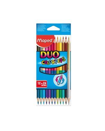 Ξυλομπογιές MAPED Color Peps Duo 829600