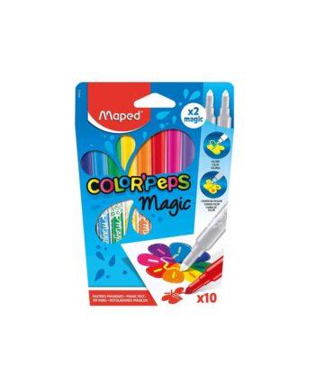 Μαγικοί Μαρκαδόροι MAPED 10 χρώματα 844612