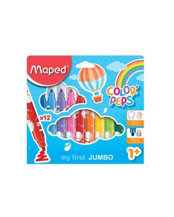 Μαρκαδόροι MAPED Color Peps Maxi 12 Χρώματα 846020