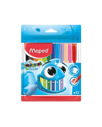 Μαρκαδόροι MAPED Color'Peps Ocean 12 Χρώματα 845720
