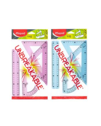 Σετ Οργάνων Γεωμετρίας MAPED Unbreakable (με χάρακα 20cm) 981703