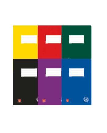 Τετράδιο A4 TYPOTRUST Study 50φ. - Διάφορα Χρώματα