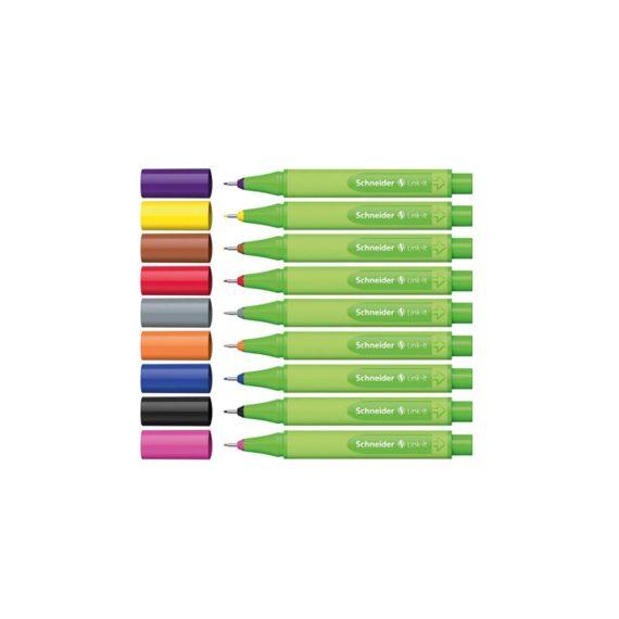 Μαρκαδόρος Ψιλής Γραφής SCHNEIDER Link-it 0.4mm - Διάφορα Χρώματα