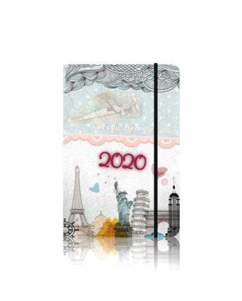 Ατζέντα Εβδομαδιαία 2020 Ευρώπης Α INNUENDO 8.5Χ17cm