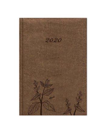 Ημερολόγιο Εβδομαδιαίο 2020 NATURALE 17x25cm
