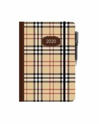 Ημερολόγιο Ημερήσιο 2020 με λάστιχο ΚΑΡΟ 10x14cm (+στυλό)