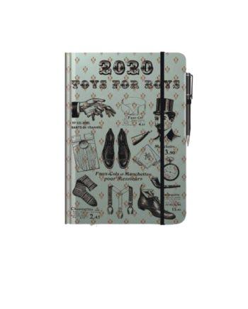 Ημερολόγιο Ημερήσιο 2020 με λάστιχο PALMARE 14x21cm  (+στυλό)