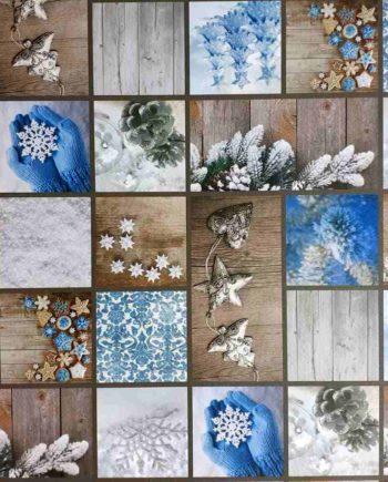 Χαρτόνι 50x70cm Χιονισμένο Καταφύγιο - Διπλής Όψης