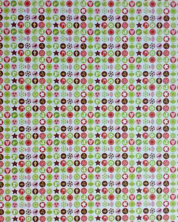 Χαρτόνι 50x70cm Χριστουγεννιάτικα Μοτίφ - Διπλής Όψης