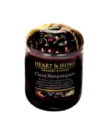 Αρωματικό Κερί HEART & HOME Γλυκά Μαυροκέρασα 340gr (Μεγάλο) 275000205