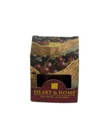 Αρωματικό Κερί HEART & HOME Γλυκά Μαυροκέρασα 52gr (Μικρό) 275020205