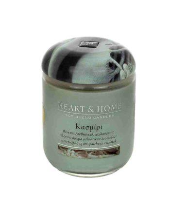 Αρωματικό Κερί HEART & HOME Κασμίρι 115gr (Μεσαίο) 275010324