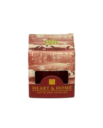 Αρωματικό Κερί HEART & HOME Νύχτα Χριστουγέννων 52gr (Μικρό) 275020411