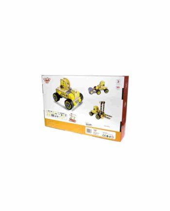 Ξύλινη Κατασκευή Οχήματα Οικοδομής TOOKY TOY TKF035
