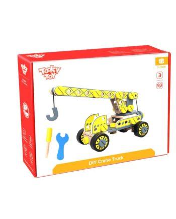 Ξύλινη Κατασκευή Φορτηγό με Γερανό TOOKY TOY TKF036