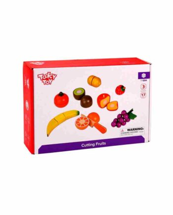 Ξύλινα Φρούτα με Εργαλεία Κόπης TOOKY TOY  TY894