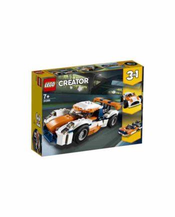 LEGO Creator  Αγωνιστικό Αυτοκίνητο του Ηλιοβασιλέματος 31089