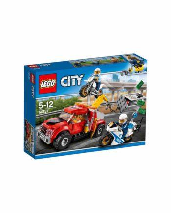 LEGO City Police Φασαρίες με Ρυμουλκό Φορτηγό 60137