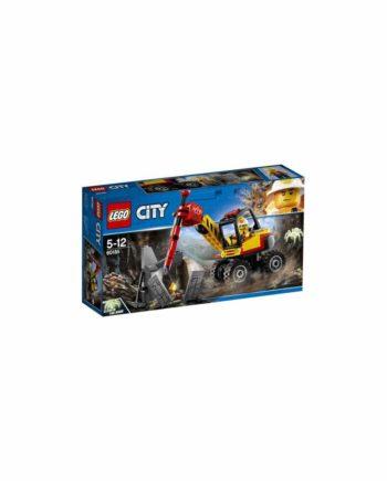 LEGO City Mining Κομπρεσέρ Εξόρυξης Χρυσού 60185